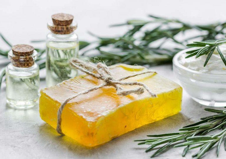 Homemade organic soaps for new vegans